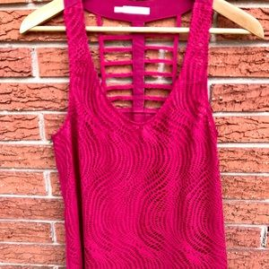 Maurices tank top, Raspberry Pink, Size Medium